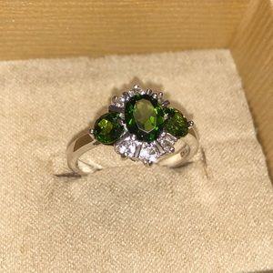 Jewelry - 3.25ctw Green Russian Chrome Diopside Sterling